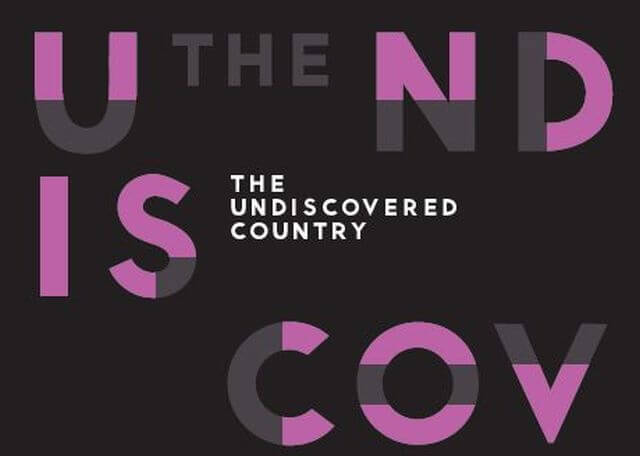 The undiscovered country Titlepage